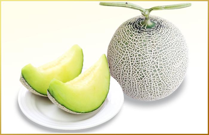 九州産 マスクメロン2玉(温室)